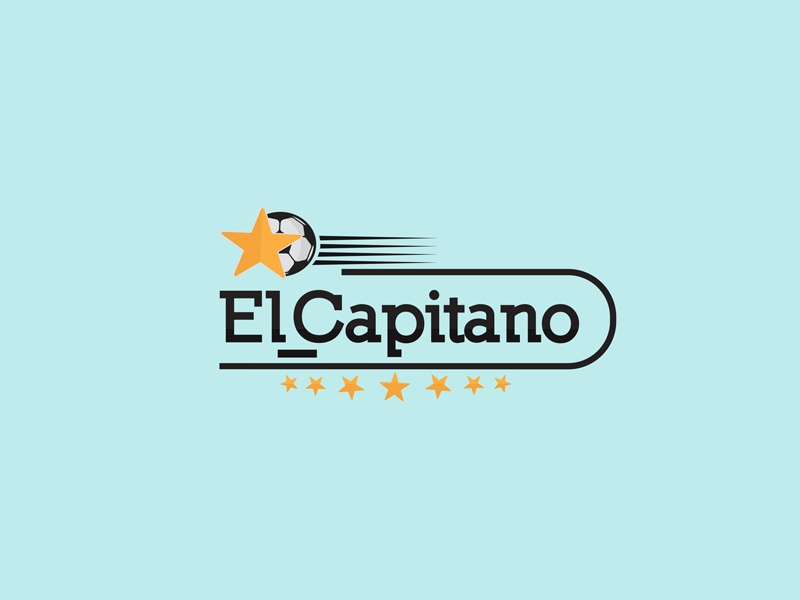 el capitano الكابيتانو design logo
