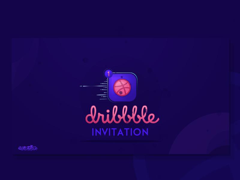 Dribbble invitation new logo logotype graphic invite invitations invitation