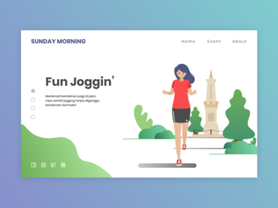 Sunday Morning Event Web Design