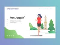 Sunday Morning Event Web Design