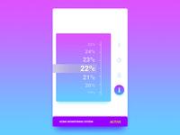 #021 DailyUI - Home Monitoring Dashboard