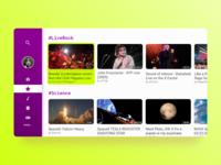 #025 DailyUI - TV App