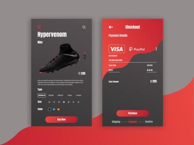 Nike Hypervenom Checkout