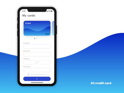 #2 Credit card