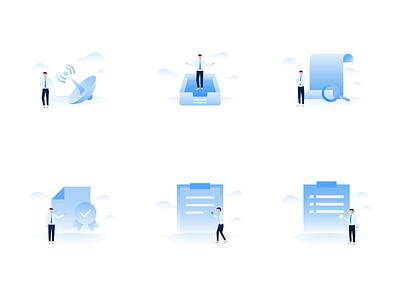 default page office business affairs app vector empty page default page illustration design ux ui