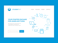 student kit header page