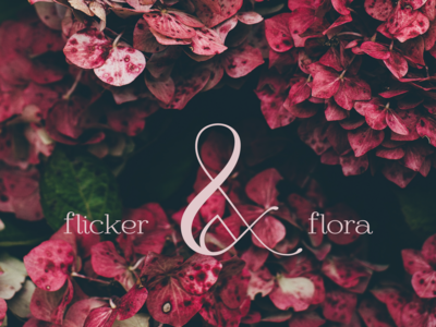Flicker & Flora - Conceptual candle and flower company