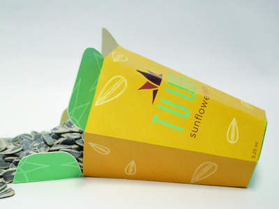 Sunflower Seed Packaging Design