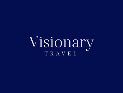 Visionary Travel Primary Logo
