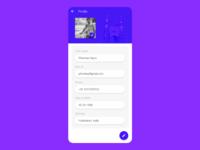 Daily UI Profile Page