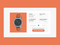 Daily UI Task #017 Email Receipt