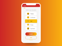 Daily UI #64 Select User Type