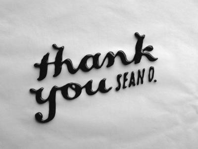 Thankyou small