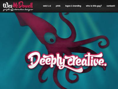 Rebound web typography logo