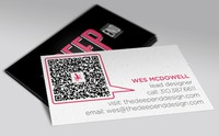 The Deep End business cards