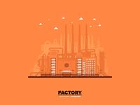 Monochromatic Flat Factory