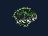 dragon logo esport