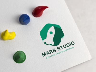 """Logo """"MARS STUDIO"""""""