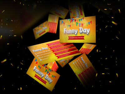 """Business card """"Fanny Day"""""""