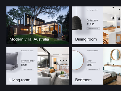 Interior inspiration branding typography ux minimal web ui design