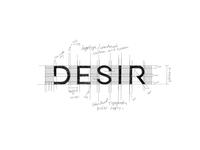 Studio Desir Pt. 1 logo design minimalistic minimalist logo custom font sans serif custom logo design custom typography type lettering wordmark mark typography logo