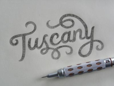 Tuscany - (rough) Sketch