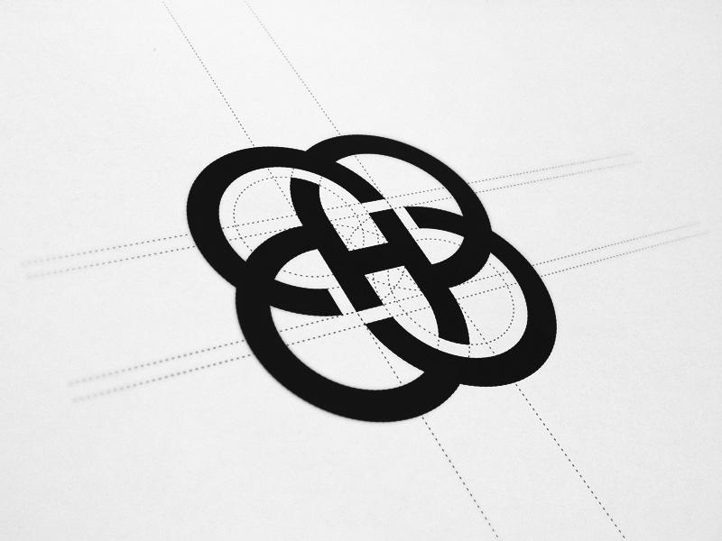Brandmark 'H' logo identity brand brandmark mark icon monogram h fashion geometry guidelines process