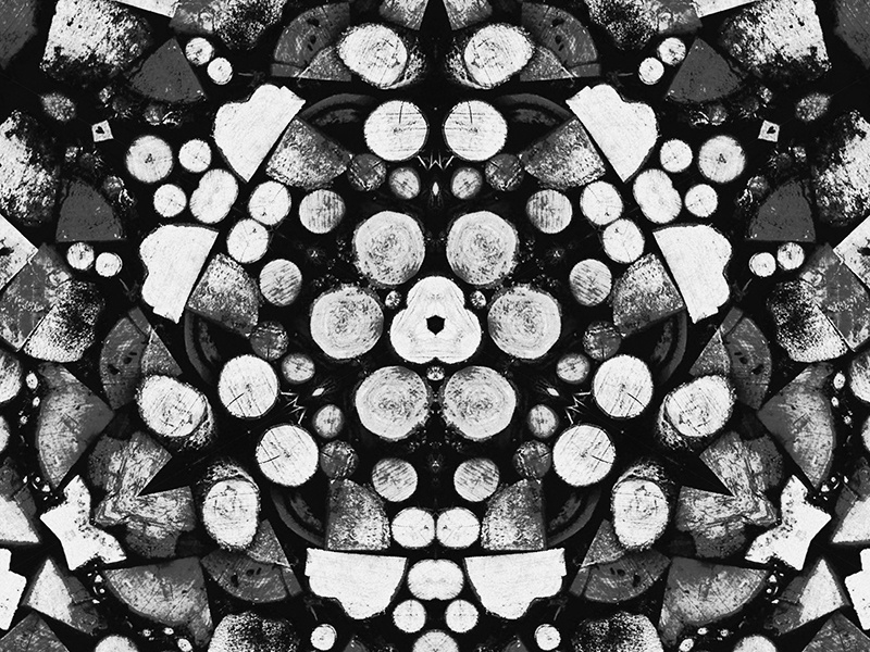 Pattern abstract background pattern wood texture black white vintage art