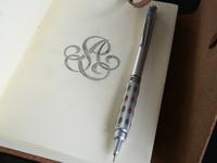 Monogram sketch - WIP