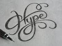 WIP - sketch 'Hype'