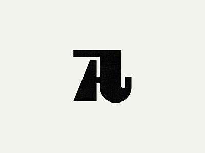 A branding agency custom logo design minimal retro stamp brandidentity custom type type branding monogram identity lettering mark typography logo