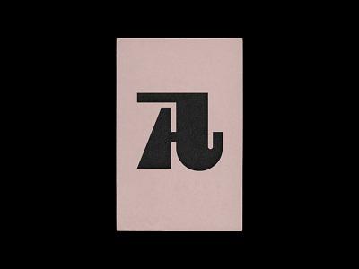 A letter branding agency custom letter custom logo design retro vintage stamp fashion branding monogram design identity icon lettering mark typography logo