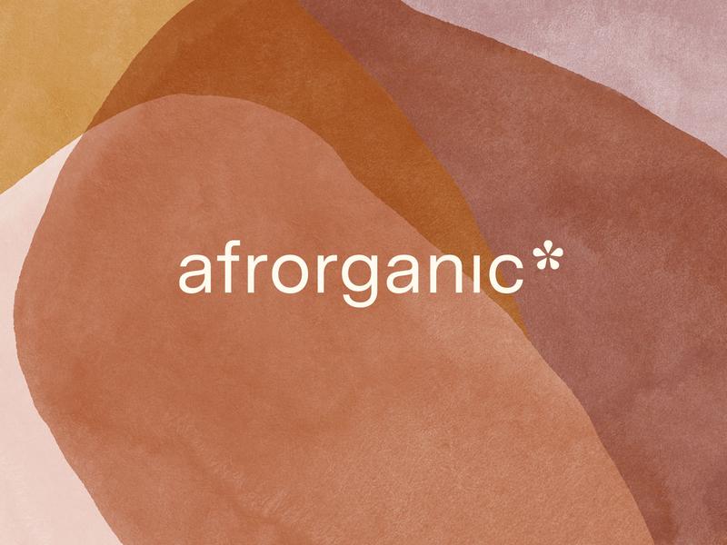 Afrorganic (2) neutral tones earth tones organic sans serif minimalistic minimal custom logo design wordmark brandidentity branding identity lettering typography logo