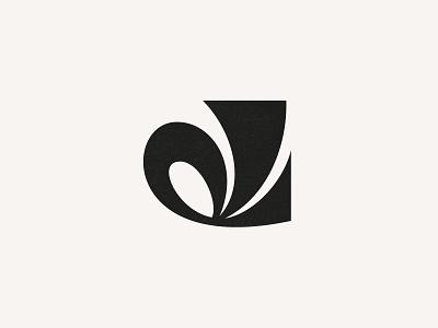 D script brand identity custom logo design funky letter retro letter vintage monogram branding design identity lettering mark typography logo
