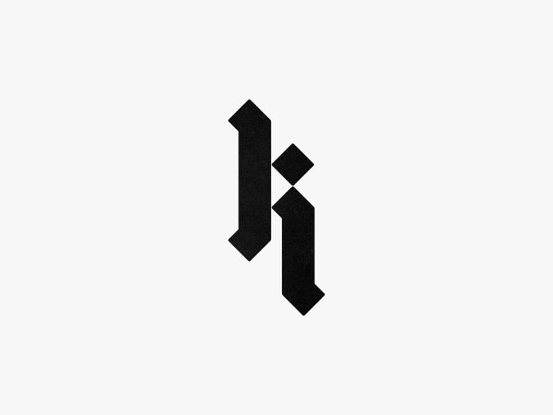 Blackletter K. customlogodesign blackletter brandidentity letter script vintage fashion branding identity design monogram lettering mark typography logo