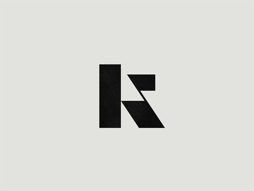 K. identity designer branding designer custom logo design letter branding identity design monogram lettering icon mark typography logo