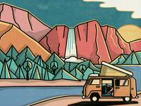 Hell Yeah California—Yosemite
