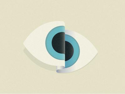 Eye perception looking look pool illustration san francisco dimension eye