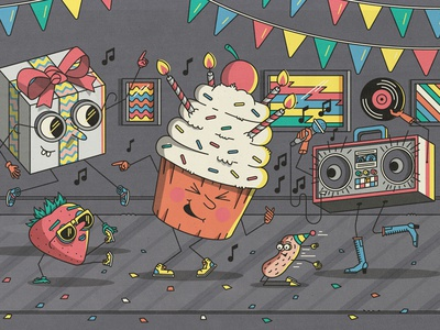 Birthday - Facebook Events pool san francisco event facebook boom box peanut strawberry dance cupcake party