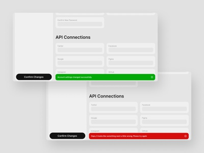 Flash Message UI Design dailyui011 011 website design dailyui uidesign ui webdesign web figma