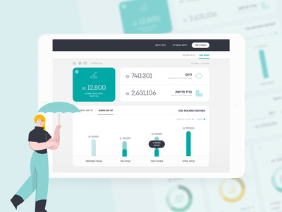 iSure insurance interface web ux icons flat minimal inspiration graphic design design inspiration design concept clean dashboard financial finance money ui