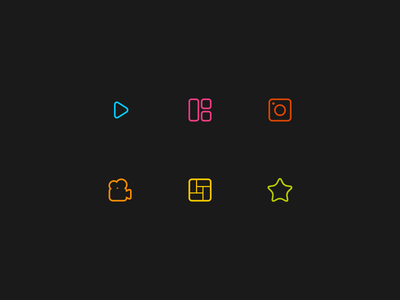Slidely Creative Suite // Icon Set icons app mobile web interface icon vector illustrator flat ui minimal inspiration illustration graphic design design inspiration design clean branding minimalistic