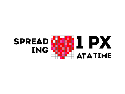 Spreading Love flat typography branding valentine day vector design illustration logo weeklywarmup love