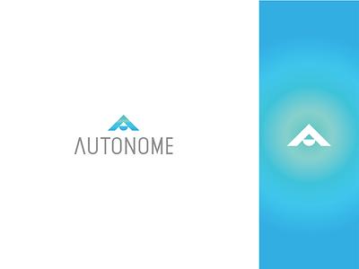 Autonome dailylogochallenge thirty logos icon typography branding design flat logo logodesignchallenge