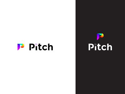 Pitch thirty logos typography flat icon branding logo dailylogochallenge
