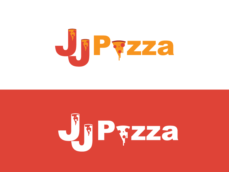 Day13 Jj Pizza thirty logos restaurant logo pizza logo pizza logo design logo jj pizza dinerlogo cafe branding brand