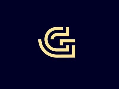 The letter G minimal icon flat typography branding design illustration logo