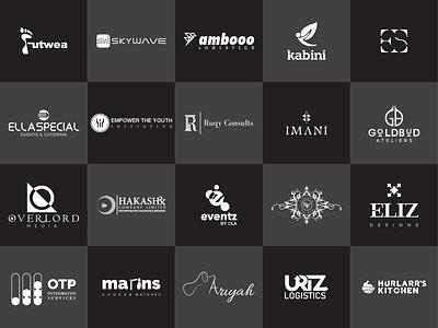 logofolio 2019 white 2019 white black lettermark logos wordmark logo designer identity design creative logo branding design branding flat typography illustration design logo