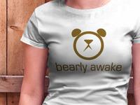 Bearly Awake Tee (coming soon?)
