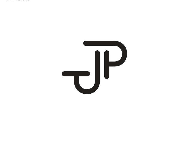 pj jp monogram by james bruno dribbble dribbble
